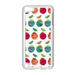 Watercolor Floral Roses Pattern Apple iPod Touch 5 Case (White)
