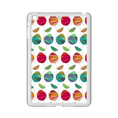 Watercolor Floral Roses Pattern iPad Mini 2 Enamel Coated Cases