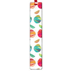 Watercolor Floral Roses Pattern Large Book Marks by Nexatart
