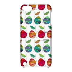 Watercolor Floral Roses Pattern Apple iPod Touch 5 Hardshell Case with Stand