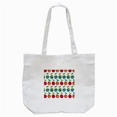 Watercolor Floral Roses Pattern Tote Bag (White)