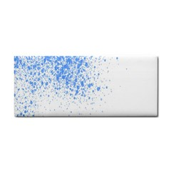 Blue Paint Splats Cosmetic Storage Cases by Nexatart