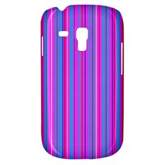 Blue And Pink Stripes Galaxy S3 Mini by Nexatart