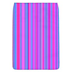 Blue And Pink Stripes Flap Covers (l)