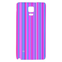 Blue And Pink Stripes Galaxy Note 4 Back Case