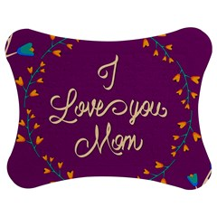 Happy Mothers Day Celebration I Love You Mom Jigsaw Puzzle Photo Stand (bow) by Nexatart