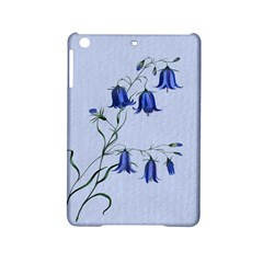 Floral Blue Bluebell Flowers Watercolor Painting Ipad Mini 2 Hardshell Cases by Nexatart