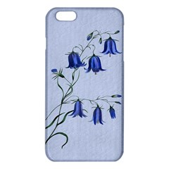Floral Blue Bluebell Flowers Watercolor Painting Iphone 6 Plus/6s Plus Tpu Case by Nexatart