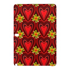 Digitally Created Seamless Love Heart Pattern Samsung Galaxy Tab Pro 12 2 Hardshell Case by Nexatart