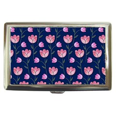Watercolour Flower Pattern Cigarette Money Cases by Nexatart