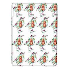 Floral Birds Wallpaper Pattern On White Background Ipad Air Hardshell Cases