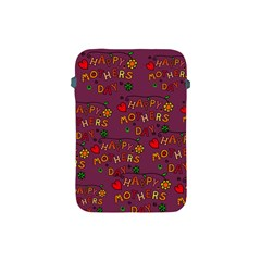 Happy Mothers Day Text Tiling Pattern Apple Ipad Mini Protective Soft Cases by Nexatart
