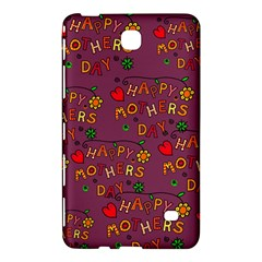 Happy Mothers Day Text Tiling Pattern Samsung Galaxy Tab 4 (8 ) Hardshell Case  by Nexatart