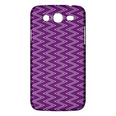Purple Zig Zag Pattern Background Wallpaper Samsung Galaxy Mega 5 8 I9152 Hardshell Case  by Nexatart