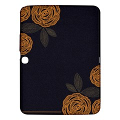 Floral Roses Seamless Pattern Vector Background Samsung Galaxy Tab 3 (10 1 ) P5200 Hardshell Case  by Nexatart
