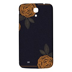 Floral Roses Seamless Pattern Vector Background Samsung Galaxy Mega I9200 Hardshell Back Case