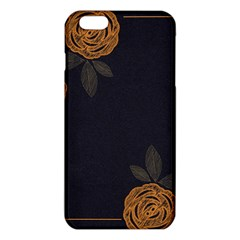 Floral Roses Seamless Pattern Vector Background Iphone 6 Plus/6s Plus Tpu Case by Nexatart