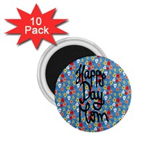 Happy Mothers Day Celebration 1 75  Magnets (10 Pack)  by Nexatart