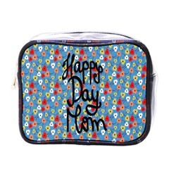 Happy Mothers Day Celebration Mini Toiletries Bags by Nexatart