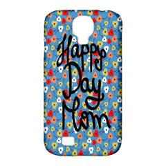 Happy Mothers Day Celebration Samsung Galaxy S4 Classic Hardshell Case (pc+silicone)