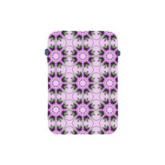 Pretty Pink Floral Purple Seamless Wallpaper Background Apple Ipad Mini Protective Soft Cases by Nexatart