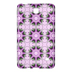 Pretty Pink Floral Purple Seamless Wallpaper Background Samsung Galaxy Tab 4 (7 ) Hardshell Case  by Nexatart
