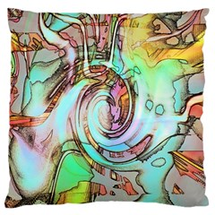 Art Pattern Standard Flano Cushion Case (two Sides) by Nexatart