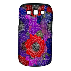 Colorful Background Of Multi Color Floral Pattern Samsung Galaxy S Iii Classic Hardshell Case (pc+silicone) by Nexatart