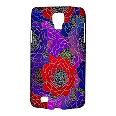 Colorful Background Of Multi Color Floral Pattern Galaxy S4 Active by Nexatart