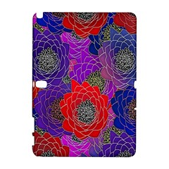 Colorful Background Of Multi Color Floral Pattern Galaxy Note 1 by Nexatart