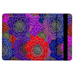 Colorful Background Of Multi Color Floral Pattern Ipad Air Flip