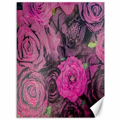 Oil Painting Flowers Background Canvas 36  X 48