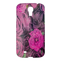 Oil Painting Flowers Background Samsung Galaxy S4 I9500/i9505 Hardshell Case by Nexatart