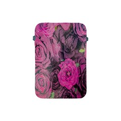 Oil Painting Flowers Background Apple Ipad Mini Protective Soft Cases