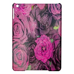 Oil Painting Flowers Background Ipad Air Hardshell Cases