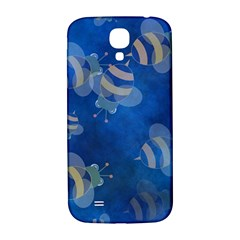 Seamless Bee Tile Cartoon Tilable Design Samsung Galaxy S4 I9500/i9505  Hardshell Back Case by Nexatart