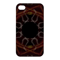 Digitally Created Seamless Pattern Apple Iphone 4/4s Premium Hardshell Case