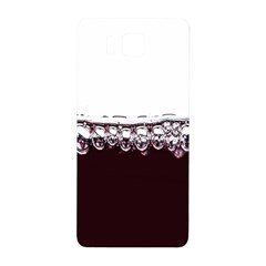 Bubbles In Red Wine Samsung Galaxy Alpha Hardshell Back Case