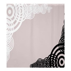 Circles Background Shower Curtain 66  X 72  (large)  by Nexatart
