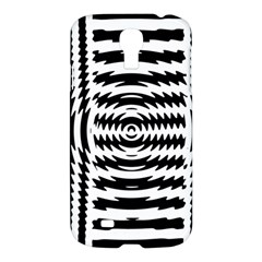 Black And White Abstract Stripped Geometric Background Samsung Galaxy S4 I9500/i9505 Hardshell Case by Nexatart