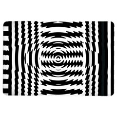 Black And White Abstract Stripped Geometric Background Ipad Air 2 Flip