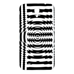 Black And White Abstract Stripped Geometric Background Samsung Galaxy Mega I9200 Hardshell Back Case