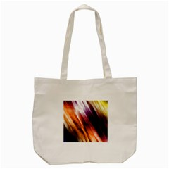 Colourful Grunge Stripe Background Tote Bag (cream) by Nexatart