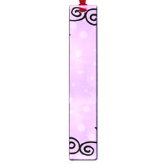 Hand Drawn Doodle Flower Border Large Book Marks by Nexatart