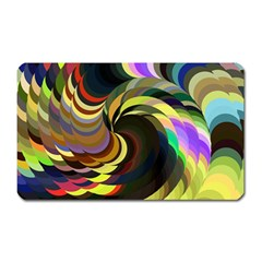 Spiral Of Tubes Magnet (rectangular) by Nexatart