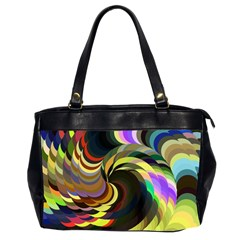 Spiral Of Tubes Office Handbags (2 Sides)  by Nexatart