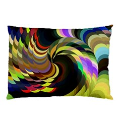 Spiral Of Tubes Pillow Case (two Sides)