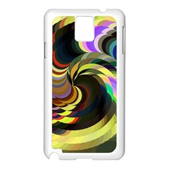 Spiral Of Tubes Samsung Galaxy Note 3 N9005 Case (white)