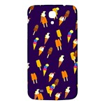 Seamless Cartoon Ice Cream And Lolly Pop Tilable Design Samsung Galaxy Mega I9200 Hardshell Back Case Front