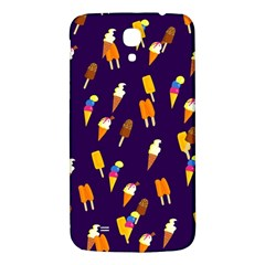 Seamless Cartoon Ice Cream And Lolly Pop Tilable Design Samsung Galaxy Mega I9200 Hardshell Back Case